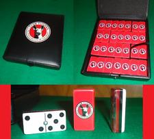 Xolos de Tijuana Dominoes Game Set Double Six Domino Man Cave Bar Cantina Pub