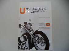 advertising Pubblicità 2001 MOTO HARLEY DAVIDSON 883 SPORTSTER