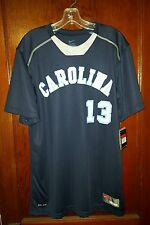 Nike Carolina #13 Game Jersey Blue/White Size Large New