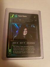 Star Wars CCG Emperor Palpatine UR FOIL Reflections 2 II NM Swccg MINT