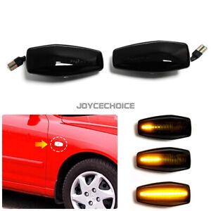LED Dynamic Turn Signal Side Marker Light For Hyundai Elantra XD i10 Getz Tucson