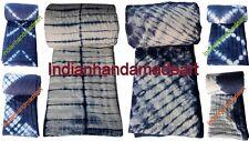 5Pc Lot Handmade Exclusive Jaipuri Razai Tiedye Shibori Print Cotton KanthaQuilt