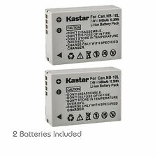 NB-10L Battery for Canon PowerShot G1 X G3 X G15  G16, SX40 HS, SX50 HS, SX60 HS