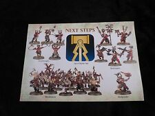 Warhammer AoS Chaos Khorne Bloodbound Murderband Warscroll Battalion Sheet