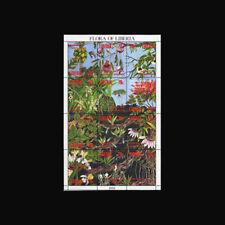Liberia, Sc #1159,  MNH, 1993, S/S, Fauna, Flora, Flowers, 1RIDD