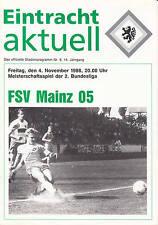 II. BL 88/89 Eintracht Braunschweig - FSV Mainz 05, 04.11.1988