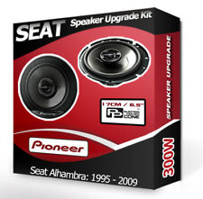 Seat Alhambra Front Door Speakers Pioneer car speakers 300W