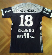 Niclas Ekberg  Jersey Match Worn Handball team Kiel Germany Autugraph