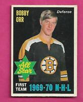 1970-71 OPC # 236 BRUINS BOBBY ORR  AS FAIR CARD (INV# D8085)