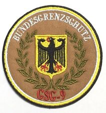 THE GERMANY GSG-9 NINE TEAM ROYAL FLYING CHAPTER PATCH-1209