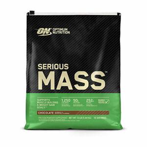 Optimum Nutrition Serious Mass Weight Gainer 5450g - vanilla