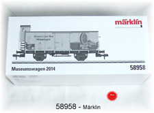 Marklin Museumswagen 1 Gauge Museum Car Set for 2014 58958