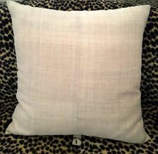 COCOON EUROPEAN SIZE CUSHION COVERS 100% HEMP WITH ZIPPER BACK -  60CM X 60CM