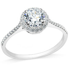 Size 4-12 Stainless Steel Solitaire Wedding Engagement Ring Propose Anniversary