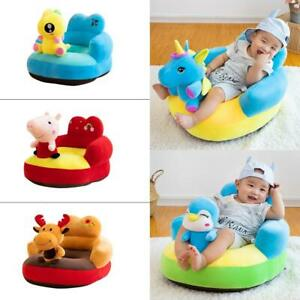 Cartoon Animal Baby Sofa Cover Learning to Sit Chair Seat Skin No Filler Feeding