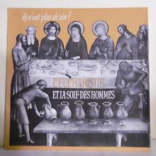 """33T 68e PELERINAGE LOURDES Vinyle LP 12"""" EUCHARISTIE SOIF DES HOMMES - DDM 36"""