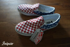 0c5c20006ae8ce Vans Doren Classic Slip-On Unisex Stars and Stripes Checkered UK10.5