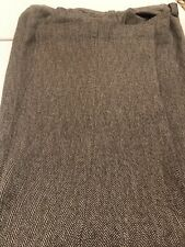 Mens Disco Vtg 70'S Haggar Slacks Matrix Black & White 32x34