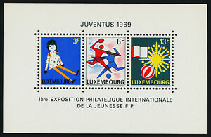 Luxembourg 474 MNH Art, International Youth Philatelic Exhibition