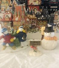 Christmas Village Figurines (3)