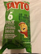 Tayto Spring Onion   6 Pack Crisps