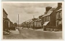 BRIDGE STREET, DOLLAR - Clackmannanshire Postcard - J B White (P662)