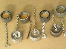 Original Ww2 Us Army M1910 or M1942 canteen cap, 3rd type with chain 2 each