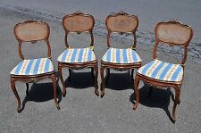Four French Louis 15th Style Chairs