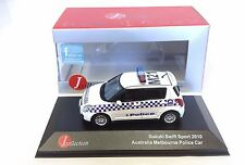 Suzuki Swift Australia Melbourne Police- IXO JAPAN 1:43 DIECAST MODEL CAR JCL157