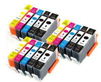 B/C/M/Y Ink Cartridges 564 XL works for Photosmart C6340 C6380 D5445 D5460 D7560