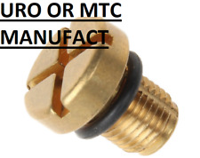 MANUFACT URO/PARTS Engine Coolant Bleeder Screw