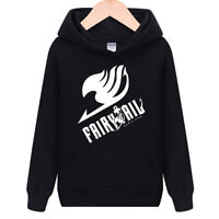 FAIRY TAIL LOGO,thick cosplay hoodie Sweatshirt jacket coat Sweater XS-XXL