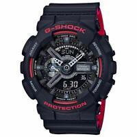 Casio GA110HR-1A G-Shock Ana-Digital Black Dial Black Resin Strap Men's Watch