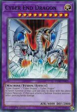 YU-GI-OH CARD: CYBER END DRAGON - LEDD-ENB25 - 1ST EDITION