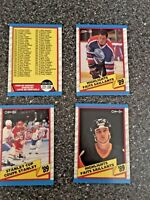 1989-90 NHL OPC O-PEE-CHEE HAND COLLATED COMPLETE SET NHL HOCKEY CARDS 1-330