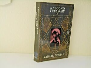 A Second Treasury of Kahlil Gibran by Khalil Gibran (1990, Paperback)