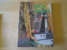 RADIO RIVISTA=N°12 1980=DEDICATA INTERAMENTE AI RADIOAMATORI=ORGANO UFF.ARI