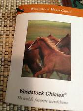 Woodstock  Horse windchimes  NIB