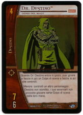 VS System • FOIL Dr. Destino Doom  MOR-111 ITA VERY RARE Marvel's Origin