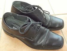 Echt Leder-Schuh 40 6,5 schwarzer Herren-Schuhe K&S Kennel und Schmenger Schnür