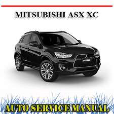MITSUBISHI ASX XC 2015-2018 WORKSHOP SERVICE REPAIR MANUAL ~ DVD