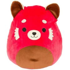 """Kellytoy Squishmallow 8"""" Cici the Red Panda Plush Doll Animal Collection Toy"""