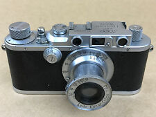 Leica DRP Model III 1937 Rangefinder Camera with 5cm F/3.5 Leitz Elmar Lens