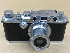 Leica DRP Model III 1937 Rangefinder Camera with 5cm F/3.5 Leitz Elmar Lens