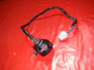 Schalter rechts Lenkerschalter Griffschalter switch interrupteur Yamaha SR 250