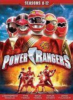 POWER RANGERS: SEASONS 8-12 - DVD - Region 1 Sealed