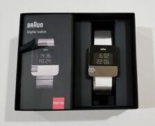 Braun Gents BN0106 Prestige Digital Watch - Silver Stainless Steel on Bracelet
