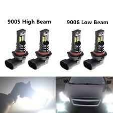 4x 9005 & 9006 Headlights CREE LED High & Low Beam Kit  8000LM 55W Plug And Play