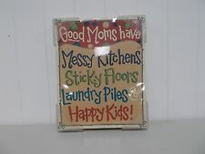 GH106 GOOD MOM'S MESSY KITCHENS SADIE ROBERTSON LINE GLORY HAUS  FRAME GIFT