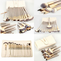 Professional Makeup Brush Set Cosmetic Make Up Brush Tool with Pouch Bag Case
